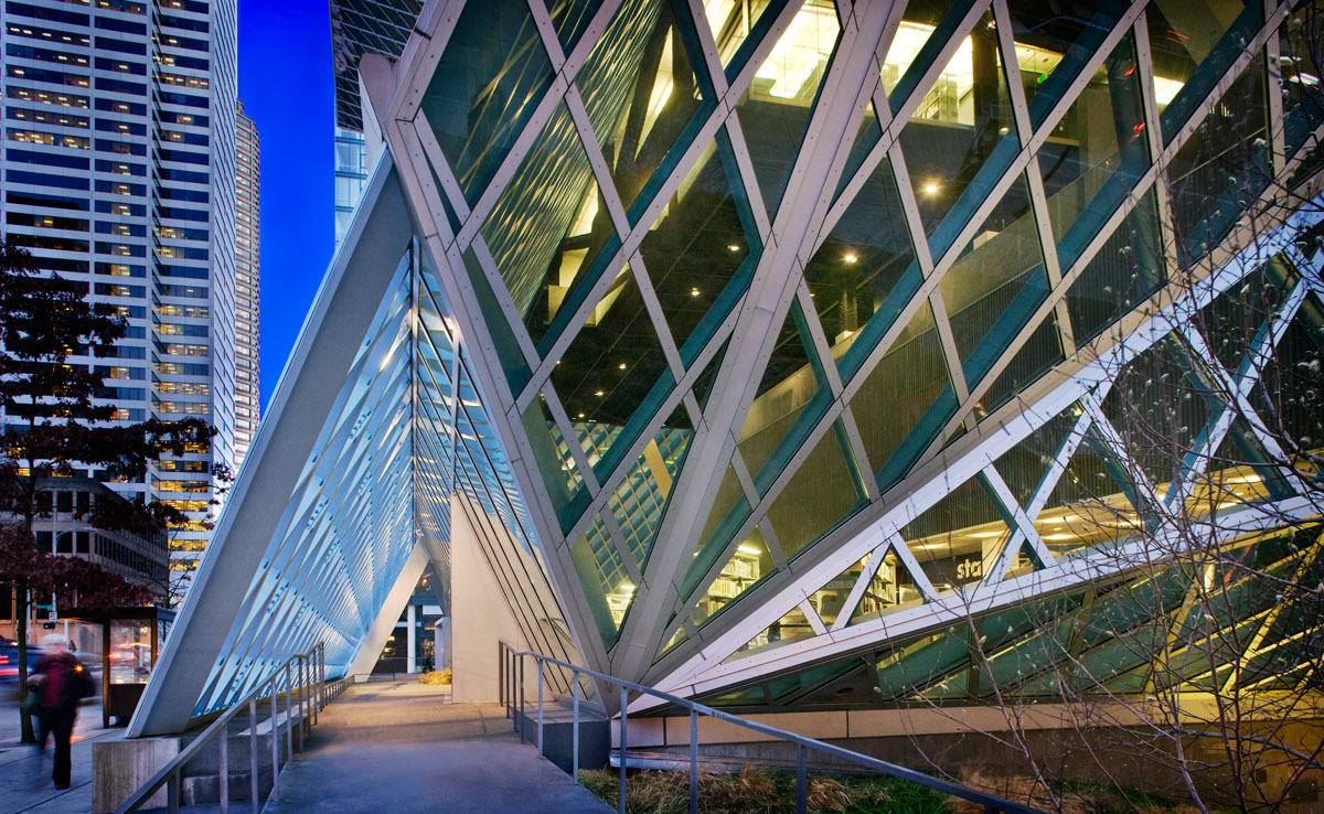 ... InterCommunications Architectural Photography Seattle Public Library,  WA Self Promotion ...